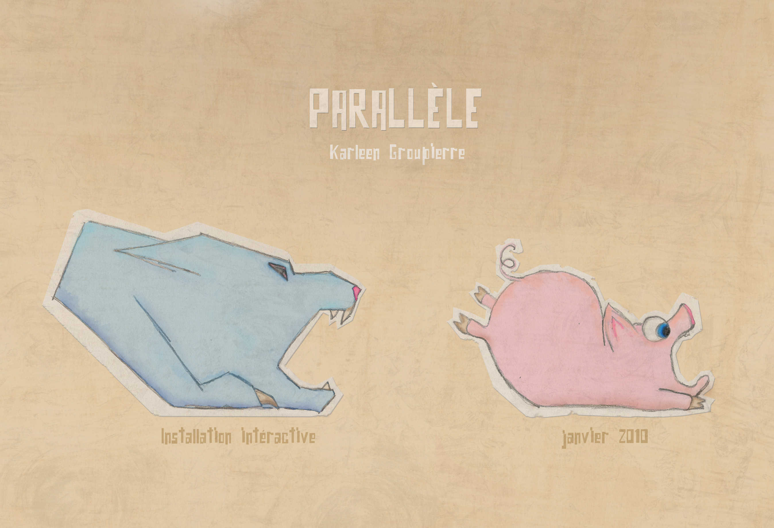 """Parallèle""  Game Augmented reality"