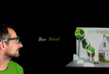 Blue Behold - interactive art piece